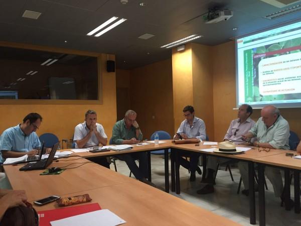 Presentadas en el Comité Forestal Andaluz las inversiones en proyectos forestales para 2016