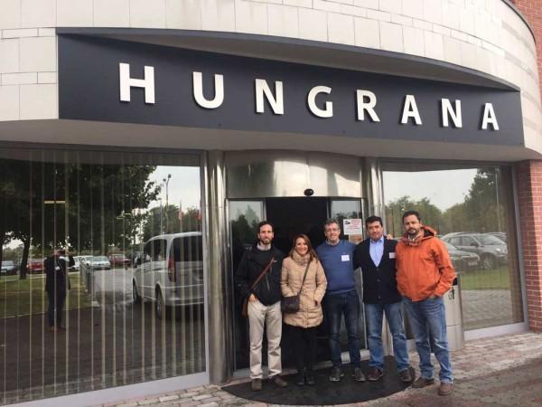 Celebrada la primera misión interhub de Agriforvalor: Hungría