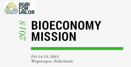 AgriForValor realizará su última misión de los días 14 y 15 de febrero de 2018 en los Países Bajos